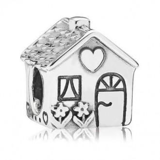 Шарм Pandora Дом милый дом класса Lux серебро 925 пробы 1:1 Оригинал. Днепр. фото 1