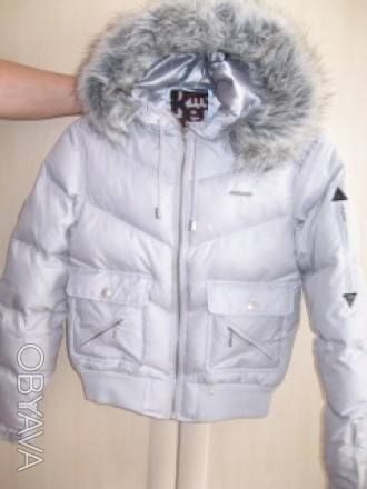 Куртка Mckenzie, оригинал. Куртка с капюшоном. Наполнитель- Пух-55%,перо45%. Низ. Ирпень, Киевская область. фото 1