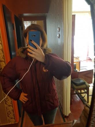 продается теплая куртка в отличном состоянии. Житомир. фото 1
