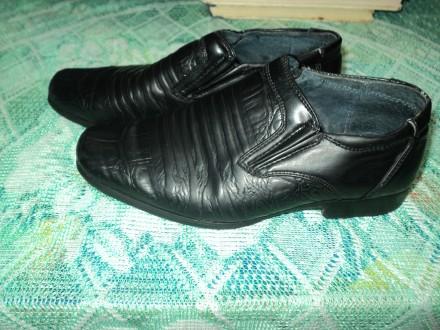Туфли для первоклассника 27 размер. Чернигов. фото 1