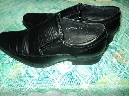 Туфли для мальчика 31 размер(состояние новых). Чернигов. фото 1