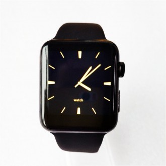 Умные часы IWO-2 BLACK (ORIGINAL 2017 version), Copy Apple Watch!. Киев. фото 1