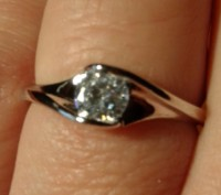 Кольцо покрытие серебро 925. Днепр. фото 1