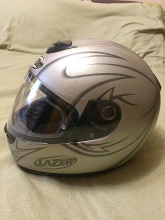 Мотошлем LAZER Karma (Бельгия), Размер M (57-58). Шлем изготовлен из материала . Киев, Киевская область. фото 3