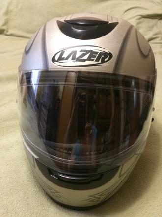 Мотошлем LAZER Karma (Бельгия), Размер M (57-58). Шлем изготовлен из материала . Киев, Киевская область. фото 2