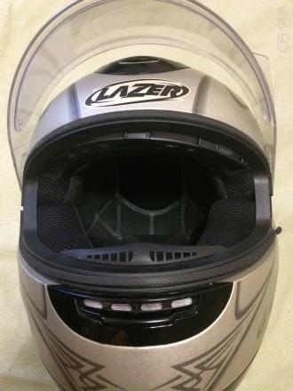 Мотошлем LAZER Karma (Бельгия), Размер M (57-58). Шлем изготовлен из материала . Киев, Киевская область. фото 10