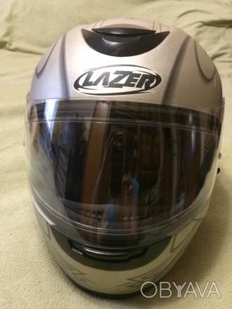 Мотошлем LAZER Karma (Бельгия), Размер M (57-58). Шлем изготовлен из материала . Киев, Киевская область. фото 1