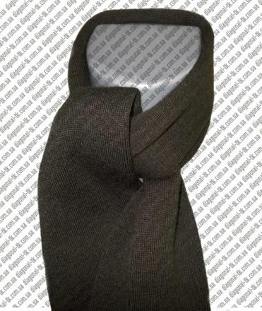 Мужская вязаная шапка с отворотом оптом. Винница. фото 1