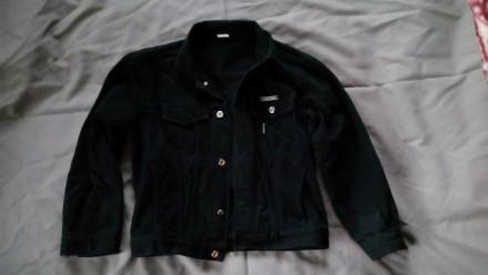 Куртка джинсовая на подростка. Коростень. фото 1