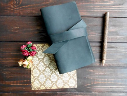 Блокнот с поясом для себя или на подарок. Харьков. фото 1