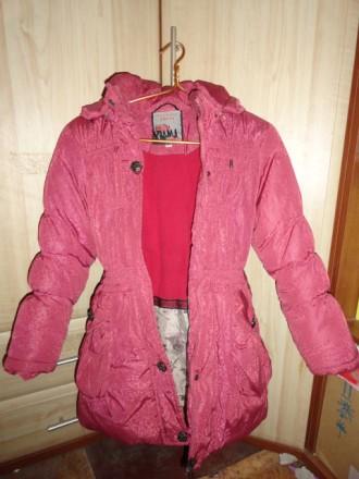 Куртка зимняя детская для девочки. Приморск. фото 1
