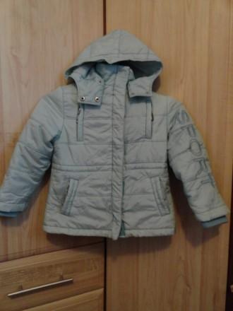 Куртка демисезонная на девочку. Приморск. фото 1
