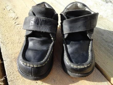Ботинки демисезонные для мальчика. Приморск. фото 1