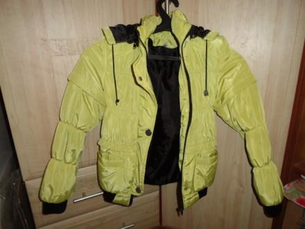 Куртка/жилетка детская весенняя на девочку. Приморск. фото 1