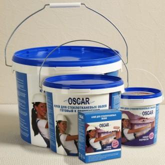 Готовый клей для стеклообоев и стеклохолстов OSKAR.  Предназначен для наклеива. Одесса, Одесская область. фото 2