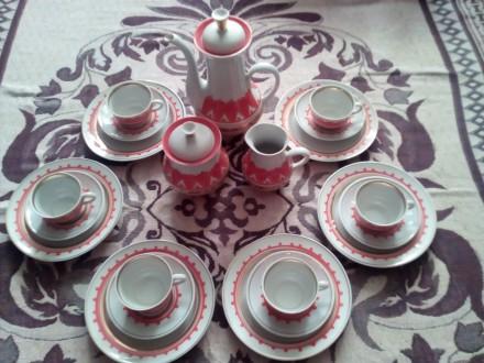 фарфоровый чайный сервиз. Нежин. фото 1