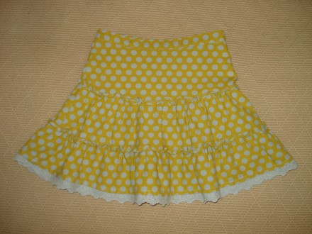 Хлопковая юбка на девочку 5-6 лет. Херсон. фото 1
