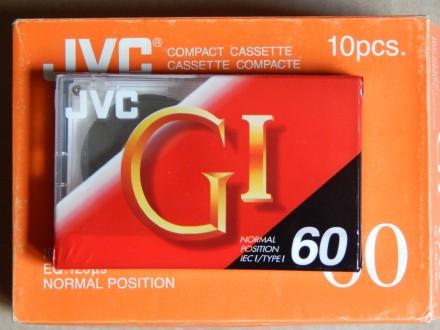 Кассета JVC GI-60 (1994 год выпуска) Новая.. Днепр. фото 1