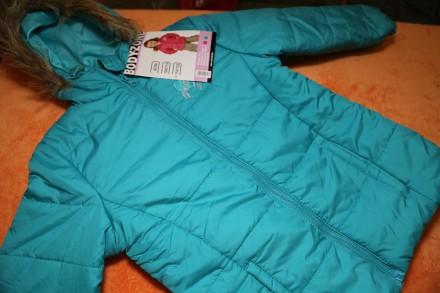 Демисезонная куртка, курточка на девочку 6-7 лет р.116-122. Днепр. фото 1