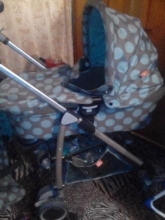 продам детскую коляску 2 в 1. Кропивницкий. фото 1