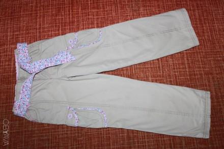 Брючки-плащевка на подкладке на 5 лет. Запоріжжя. фото 1
