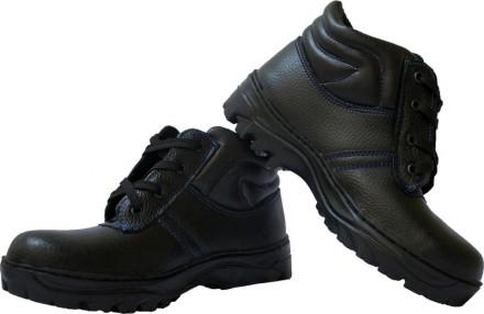 Ботинки рабочие кожаные отличное сочетание цены и качества. Чернигов. фото 1