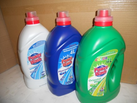 Гель для прання 4 л Power Wash. Яворов. фото 1