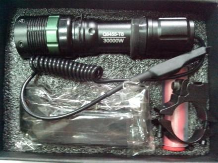 Подствольный фонарь LED с выносной кнопкой Q8455-T6. Купянск. фото 1