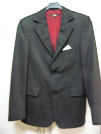 Качественный брендовый пиджак на старшеклассника BLEND.. Киев. фото 1
