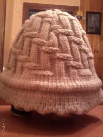 вязанная шапочка. Николаев. фото 1