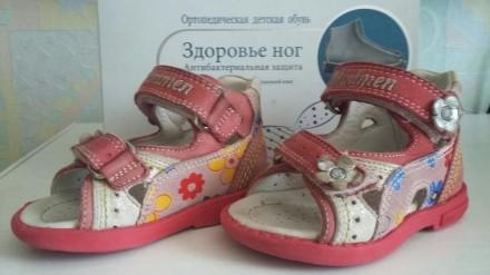 Босоножки для девочки. Николаев. фото 1