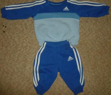 Продам спортивный костюмчик на мальчика бренд Adidas (оригинал).. Токмак. фото 1