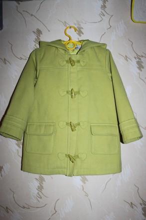 Пальто на 4-5 лет для маленькой леди. Запоріжжя. фото 1