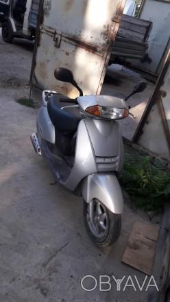 Honda Lead AF48 (Хонда Лид) - полноценный 2-х местный скутер. Модный 50 кубовый . Одесса, Одесская область. фото 1