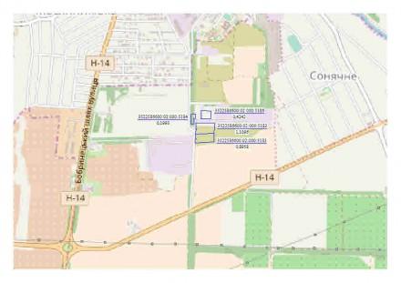 Продам земельные участки (приватизированные) - 6 участков = 4 гектара, (5 участк. Кропивницкий, Кировоградская область. фото 6