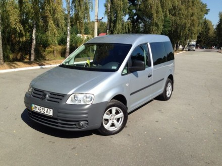 Volkswagen Caddy ecco fuel 2.0. Житомир. фото 1