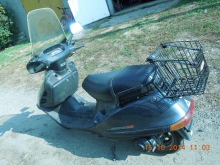 Продам макси-скутер HONDA SPACY 125. Чистый оригинал. 2-х местный, 4-х тактный, . Котовск, Одесская область. фото 4