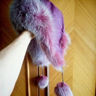 Шапка меховая для девочки. Полтава. фото 1