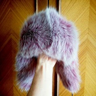 Очень теплая шапка из натурального меха песца, а также мягкая и легкая. Размер р. Полтава, Полтавская область. фото 3