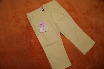 Летние, легкие штаники, штаны на девочку 9-12 мес. р. 74-80. Днепр. фото 1