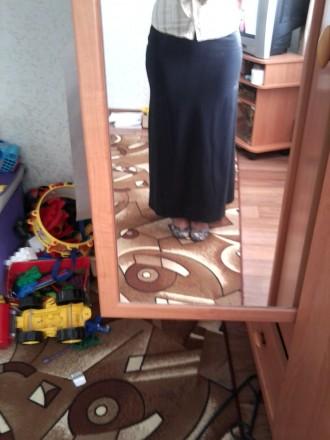 Продам новую чёрную длинную юбку. Чернигов. фото 1