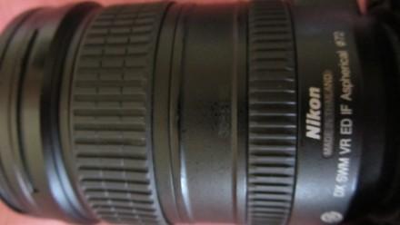 Объектив NIKON AF S NIKKOR 18-200mm 3,5-5,6 G ED VR(б/у, отл. сост., Таиланд) - . Сумы, Сумская область. фото 7