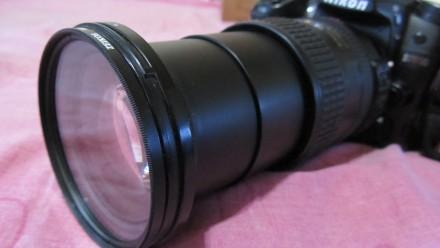 Объектив NIKON AF S NIKKOR 18-200mm 3,5-5,6 G ED VR(б/у, отл. сост., Таиланд) - . Сумы, Сумская область. фото 6