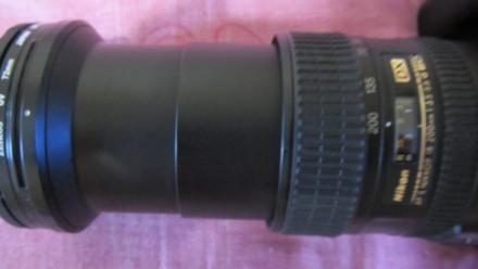 Объектив NIKON AF S NIKKOR 18-200mm 3,5-5,6 G ED VR(б/у, отл. сост., Таиланд) - . Сумы, Сумская область. фото 5