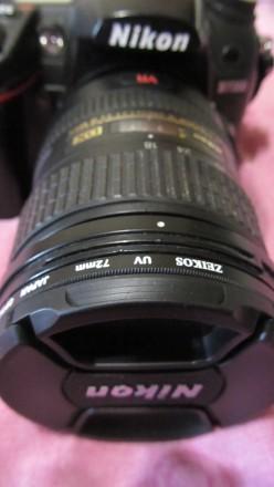 Объектив NIKON AF S NIKKOR 18-200mm 3,5-5,6 G ED VR(б/у, отл. сост., Таиланд) - . Сумы, Сумская область. фото 2