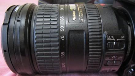 Объектив NIKON AF S NIKKOR 18-200mm 3,5-5,6 G ED VR(б/у, отл. сост., Таиланд) - . Сумы, Сумская область. фото 3