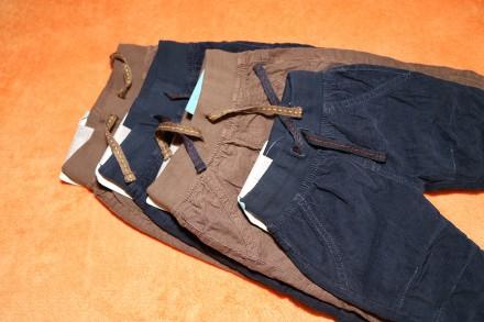 Штаны, брюки, утепленные Lupilu на 2-6 мес., можно для двойни. Днепр. фото 1