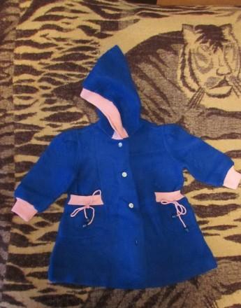 Тёплое пальто для девочки 26р-р. Миколаїв. фото 1