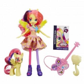 My Little Pony Equestria Girls куклы в наборе с пони и гитарой, в нали. Ивано-Франковск. фото 1