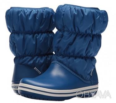 Сапоги Крокс, crocs Womens Winter Puff Boot,   размер                 Синие . Ивано-Франковск, Ивано-Франковская область. фото 1